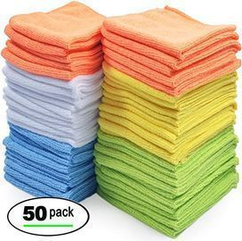 Best Microfiber Cleaning Cloths, 50pk
