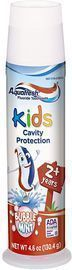 Aquafresh Kids Toothpaste, Bubble Mint, 4.6 Ounce