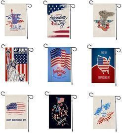 American Independence Day Garden Banners