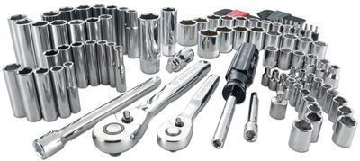 Craftsman 105 pc. SAE & Metric Mechanics Tool Set