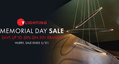 YLighting - Up to 50% Off Memorial Day Sale + Free Shipping & Free Gift