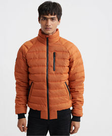 Superdry Mens Commuter Quilted Bomber Jacket