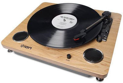 Ion Audio LP Digital Conversion Turntable w/Built-in Speakers
