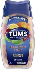 TUMS Antacid Chewable Tablets - 96