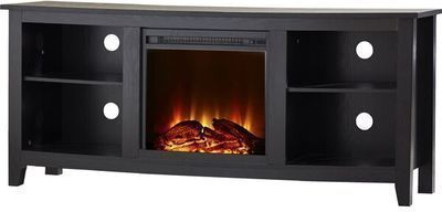 Sunbury TV Stand for TVs up to 60 w/ Electric Fireplace