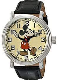 Disney Men's Vintage Mickey Mouse Watch