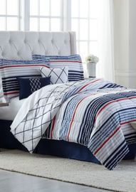 Modern Southern Home Aiden 6 Piece Queen Comforter Bed
