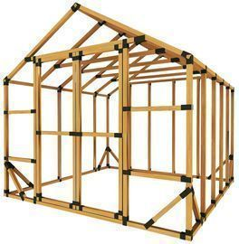 E-Z Frames Storage Shed Kit