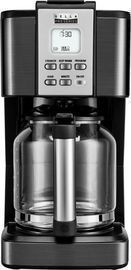 Bella Pro Series 14-Cup Coffee Maker, Black Stainless Steel