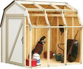 2x4basics Custom Shed Kit w/ Barn Roof