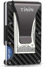 Tinin RFID-Blocking Carbon Fibre Wallet