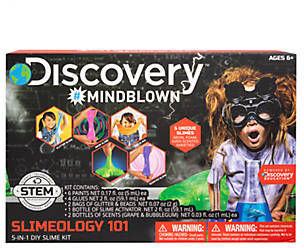 Discovery Kids Mindblown STEM Slimeology 101 5-in-1 DIY Slime Kit