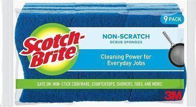 Scotch-Brite 9 Pack Non-Scratch Scrub Sponges