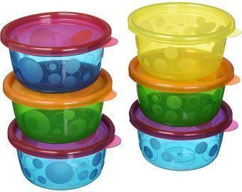 Take & Toss 6pk Toddler Bowls with Lids - 8oz