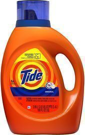 Tide Laundry Detergent Liquid 100-Fl. Oz. 3-Pack