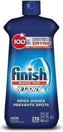 Finish Jet-Dry Aid, 23oz, Dishwasher Rinse Agent & Drying Agent