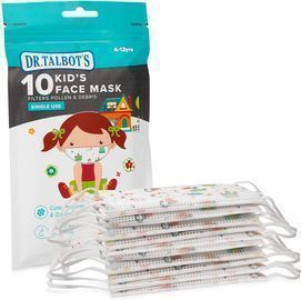 10pk Dr. Talbot's Disposable Kids Face Mask