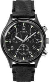 Timex MK1 Steel Fabric Chronograph Men's 42mm Watch (2 Colors)