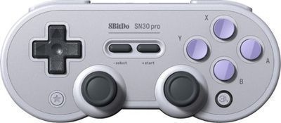 8Bitdo Sn30 Pro Wireless Controller for PC/Mac/Android or Nintendo Switch