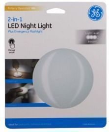 GE 2-In-1 LED Night Light
