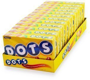Dots Assorted Fruit Candy 12-Pack