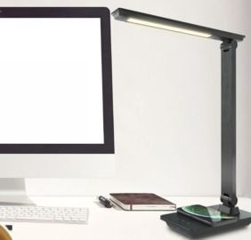 Desk Lamp 57 5W LED Desk Lamp with Wireless Charging