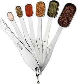 Spring Chef Heavy Duty Stainless Steel Measuring Spoons