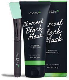 AsaVea Blackhead Peel Off Mask With Brush