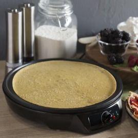 12in Non-Stick Pancake Crepe Maker w/ Spatula, Spreader