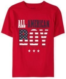 Boys' All American Graphic Tee