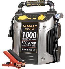 STANLEY 1000/500 Amp 12V Jump Starter w/ LED Light and USB