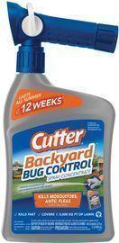Cutter Backyard Bug Control Spray Concentrate 32oz.
