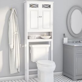 Roberts Free-Standing Over The Toilet Storage