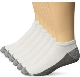 6-Pack of Hanes Men's Comfortblend Max Cushion Low Cut Socks