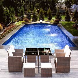 Limited Stock! Walnew 9 Pieces Patio Dining Set