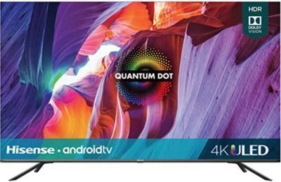 Hisense 50 Class H8 Quantum Series Android 4K ULED Smart TV with Voice Remote