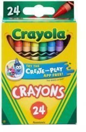 24-Count Crayola Crayons