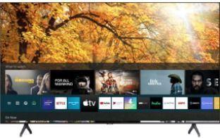 SAMSUNG 55 Class 4K Crystal UHD (2160P) LED  Smart TV