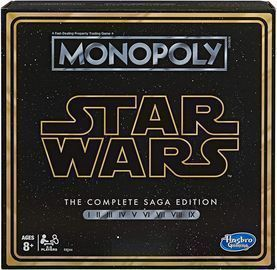 Monopoly: Star Wars Complete Saga Board Game