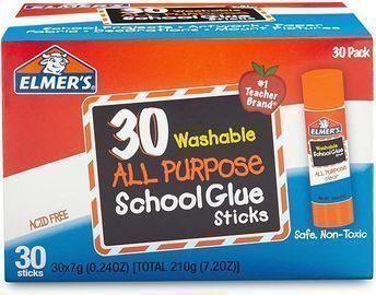 Elmer's All Purpose School Glue Sticks - 30 Count