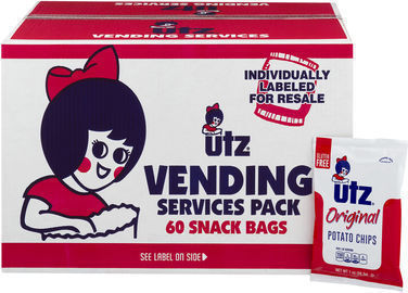 Utz Potato Chips (60 Pack of 1 oz. Bags)