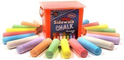 Chalk City Sidewalk Chalk 20-Pack