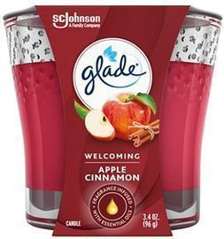 Glade Candle Jar - Apple Cinnamon