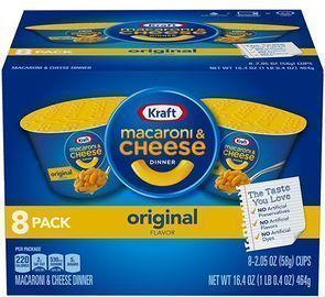 Kraft Easy Mac Dinner 8-pack