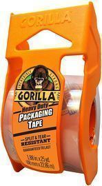 Gorilla Heavy Duty Packing Tape with Dispenser
