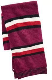 Tommy Hilfiger Men's Back Bay Cardigan-Knit Striped Marled Scarf