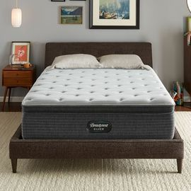 Beautyrest Silver 15 Medium Pillow Top Mattress w/ Box Spring