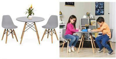 Kids Modern Dining Table Set