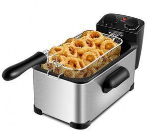 3.2 Quart Electric Stainless Steel Deep Fryer