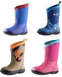 MCIKCC Kids Rubber Rain Boots